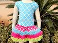 verão baby meninas vestido boutique roupa define mini plissado saias