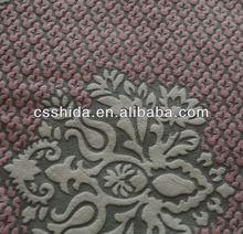 red dots fleece fabric