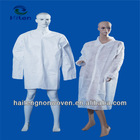 CE & ISO Clinic dental use blue color non woven disposable surgical isolation gowns