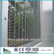 hot dipped galvanized anti climb 358 fence A.S.O company(ISO9001,CE,SGS,BV)