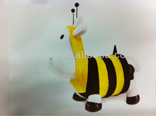Jumping cow Inflatable jumping animal toy