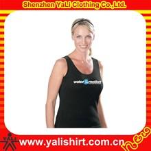 wholesale gym wear custom made good printing custom logos womens tank top
