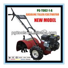 6.5hp gasolina sierpe de la energía de la granja de la rueda dos mini disco de arado para caminar tractor ford tractores agrícolas de la venta