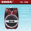 Custom logo waterproof multi-function subwoofer mini audio speakers