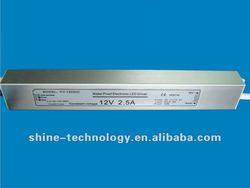 Model: CV-12030C, high quality waterproof led driver 12V 30W IP67
