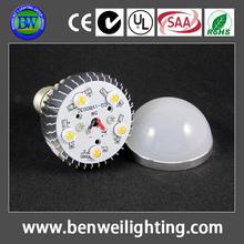 3 years warranty warm white e27 5w led bulbs housing w