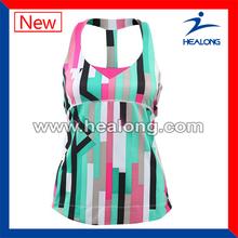 de secado rápido vestido de tenis de poliéster coolmax vestido de ropa de tenis