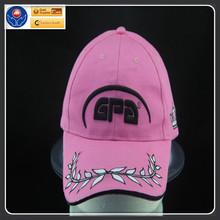 cotton twill baseball cap with embroidery logo velcro sandwich
