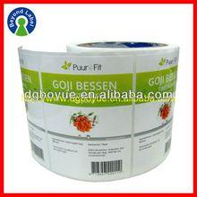 Printing Logo Printed Custom Adhesive Sticker,Self Adhesive Vinyl Labels ,One Side Four Color Printing Sticker