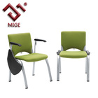 Color Optional Mesh Conference Writing Tablet Chairs