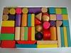 Wooden toy building blocks,children wooden building block