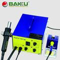 2 em 1 estação de retrabalho pistola de ar de calor com ferro de solda BK701A BAKU novo Design