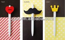 nice design cheap promotional heart pens