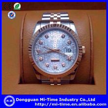 New china wholesale luxury brand stainless steel mens wrist discount watches