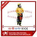 Radiação nuclear e proteger a roupa, homologação ce de bombeiros ternos