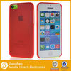 Smooth crystal clear hard case for iphone 5C,attractive custom accessory for iphone 5C