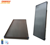 Black chrome flat plate solar water heater collector
