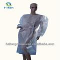 Bata quirúrgica/ropa protectora/bata de aislamiento a prueba de agua bata de aislamiento bata de aislamiento desechable