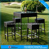 Garden Bar Furniture/ high table and chair for bristo and bar / rattan wicker furniture GT5089+3078-S