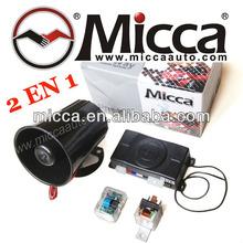 2 en 1 Alarma Upgrade OEM Sin Controles, Usando Transmisor Original de Fabrica y Controles Adicionales Codigo Variable(KE700+)
