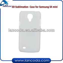 3d sublimation case for samsung s4 mini