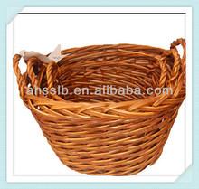willow wicker garden basket