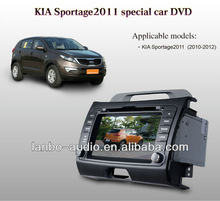 8Inch Andriod 2Din Kia sportage 2012 Car dvd,In-Dash Multimedia DVD Player with bulit in GPS Navigation/Bluetooth