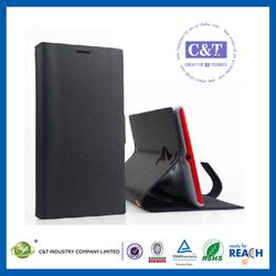 C&T PU Leather smart flip case cover for nokia lumia 1520
