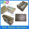 OEM battery for Canon G6 G5 G3 G2 G1 EOS 300D D30 D60 40D 20D 30D