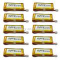 Vendedor buena calidad 602048 1100 mah 3.7v pilas y baterías de litio para gps portátil de potencia y capa de