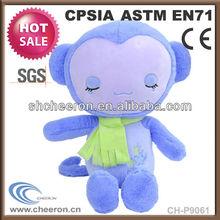 2014 new gift products soft toy plush animal monkey