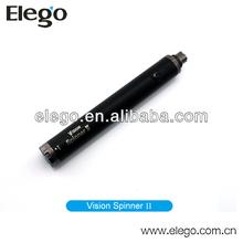 Best Seller Smoking Pipe e cig 1600mah Vision Spinner ii,Vision Spinner 2 1600mah Battery