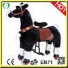 High quality lifelike toy horses,black horse toy,big toy horse