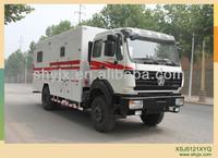 oilfield fracturing auxiliary truck small van trucks