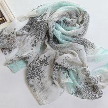 2014 la moda de primavera estilo de la flor impreso todos los tipos de bufandas ( PP022DL )