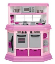 Lovely plastic mini toy doll house furniture for kids