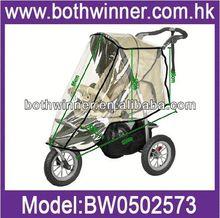 AS077 lovely infant pushchair universal rain cover