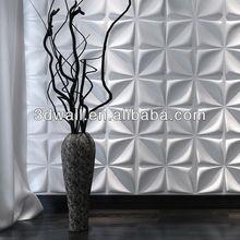 environmental decorative 3dwall pvc
