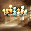 amazing globo de la lampe en verre colorido lâmpadas