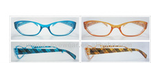 ce reading glasses plastic ,colored