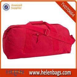 china manufacturer custom design magenta fashion duffle bag