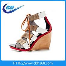 2014 women fashion platform wedge heels
