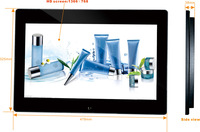 18.5 inch hd lcd monitor pop display in retail stores,vertical lcd advertising monitor,lcd display advertising monitor