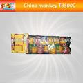 Europa Popper del partido de colores papeles en el interior para la navidad para los niños de seguridad de fuegos artificiales para la venta ( T8500C )