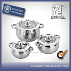 stainless steel gas white enamel pot enamel cookware