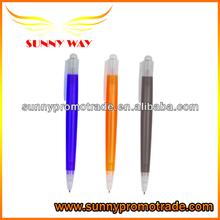 Customized plastic black ink pen