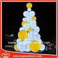 festival de la decoración de bolas de espuma de poliestireno con flores