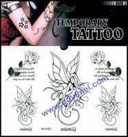 2014 hot sale Eco-friendly fashionable mini water transfer custom heart shape tattoo