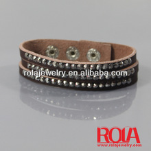 leather thong for bracelets Leather PU bracelet jewelry WHOLEALE JEWELRY FASHION ORNAMENT ACCESSORY