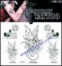 2014 latest naruto japanese standard tattoo sticker